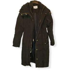 Cole Haan Women's Black Puffer Coat